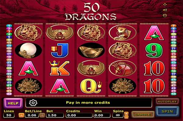 Slot Fifty Dragons